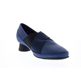 Camper Alright Womens Blau Leder Slip On Heels Pumps Schuhe