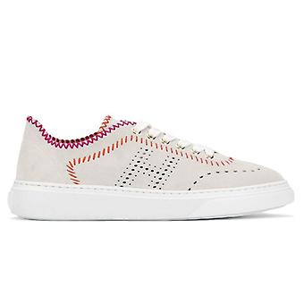 Sneaker Hogan H365 Ghiaccio Con Cuciture Colorate