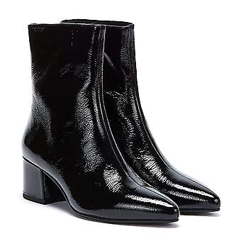 Vagabond Mya Patent Womens Black Boots