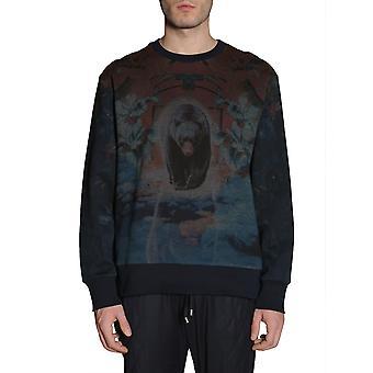 Etro 1y7415641200 Men's Blue Cotton Sweatshirt