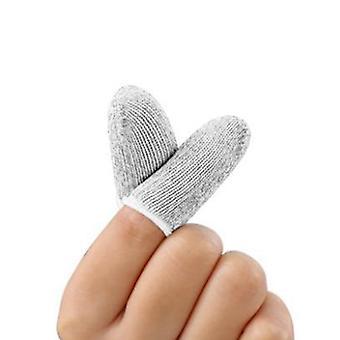 1 زوج L1-r1 القابلة للتنفس موبايل لعبة تحكم الإصبع الأكمام اللمس الزناد