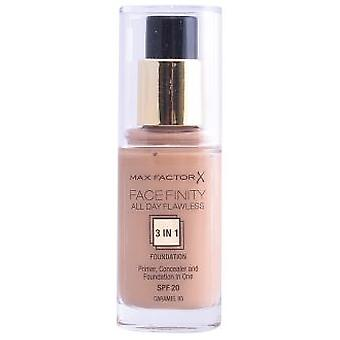 Max Factor Feasibility All Day Impeccable Foundation 3 In 1#85-Caramel