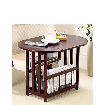 Chums Drop Leaf Swivel Top Table