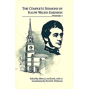 The Complete Sermons of Ralph Waldo Emerson