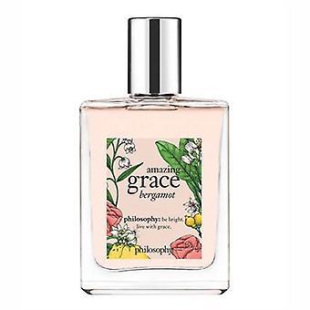 Philosophy Amazing Grace Bergamot for Women 2oz Eau De Toilette Spray
