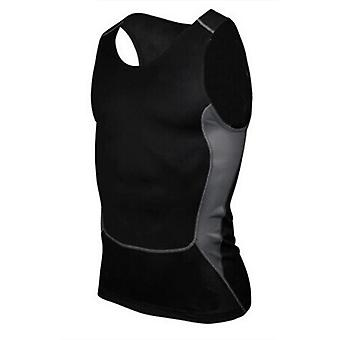 Men's Quick-drying Sports & Fitness T-shirt, Compression Sleeveless Breathable
