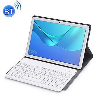 Irrotettava Bluetooth-näppäimistö Ultrathin vaakasuuntainen flip nahkakotelo Huawei MediaPad M5 10,8 tuumaa, pidike (kulta)