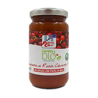 Simple & organic rosehip compote (with apple pulp) None