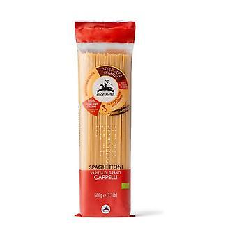 Spaghettoni semolina Senatore Cappelli Bio None