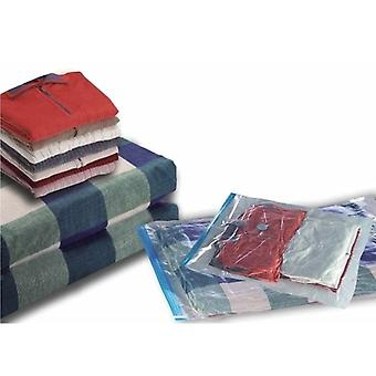 12 csomag tároló helytakarékos ruhatáskák - 80cm X 60cm-vákuum tároló táska