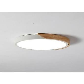 Erittäin ohut lamppu puinen valaisin pintakiinnitys Olohuone Koti Sisustus