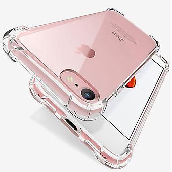 Caixa de telefone de silicone à prova de choque de luxo para iphone