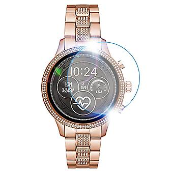 Clear Film Tempered Glass Screen Protector For Michael Kors Smartwatch
