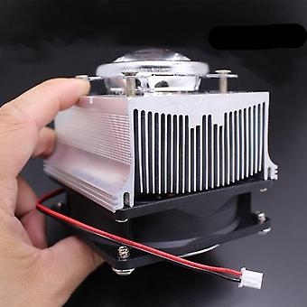 100w Led Aluminium Heat Sink Cooling Fan