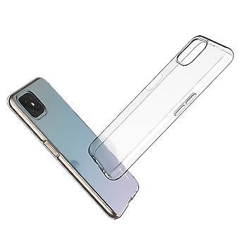 Coque Pour Oppo Reno4 Z 5g, Housse De Protection En Silicone De Haute Qualité, Transparent