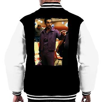 Den stora Lebowski Jesus i Bowling Alley Men&apos, s Varsity Jacket
