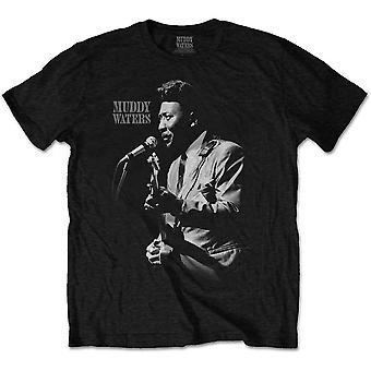 Muddy Waters Muddy Live Official Tee T-Shirt Unisex
