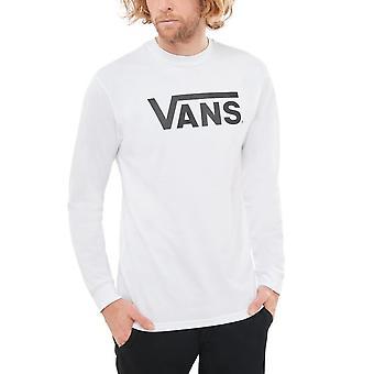Vans Classic Long Sleeve T-Shirt White Black