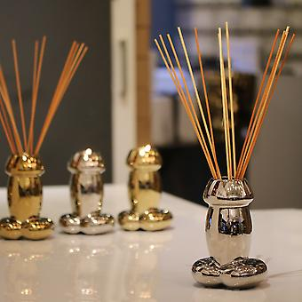 Silver Drip Candle & Reed Diffuser [value Pack]