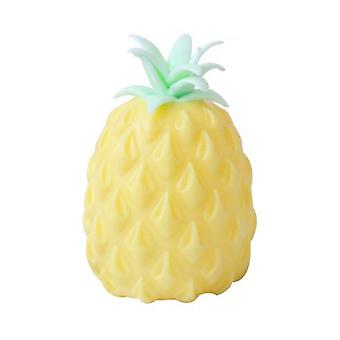 Hold The Pressure Venting Ball To Relieve The Decompression Of The Pineapple Toy, And The Toy Will Not Burst
