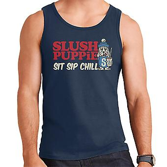 Slush Puppie Sit Sip Chill Mænd's Vest