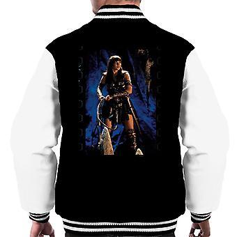Xena Warrior Princess The Cave Men's Varsity Jacket