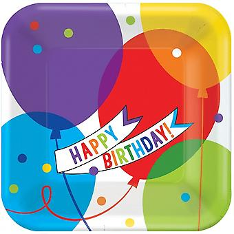 Party Boards Brilliant Balloons 18 Pieces Bt314332