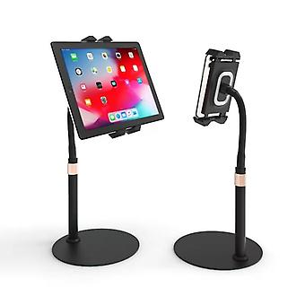 TechFlo Adjustable Gooseneck Stand Bed Desk Mount for Phone Tablet 4.7 - 12.9in