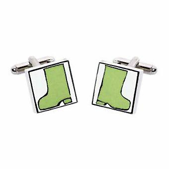 Wellies Cufflinks par Sonia Spencer