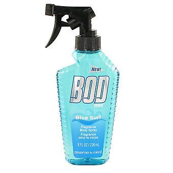 BOD hombre azul Surf Body Spray por Parfums De Coeur 8 oz aerosol del cuerpo