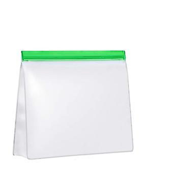Reusable zip bag for groceries