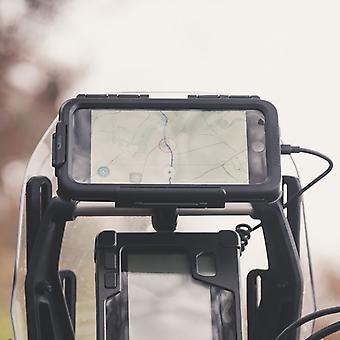 Adv motorcycle crossbar tough waterproof case kit apple iphone xr