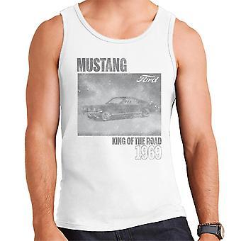Ford Mustang Konung av vägen 1969 Manar's Väst