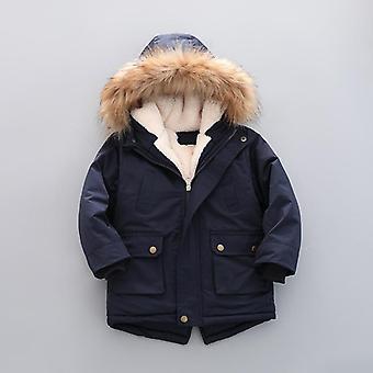 Talvi lämmin, ulkoilutakki rento, plus sametti paksut takit &