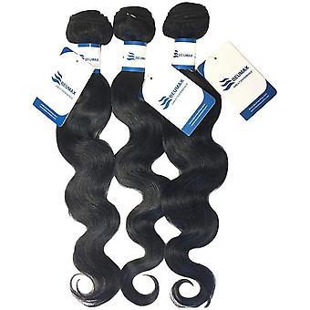 9a-luokan brasilialainen ihmisen hiustenpidennys Kehon Aalto 1/3 nippua kanssa