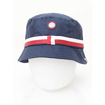 Pretty Green Tilby Bucket Hat - Navy
