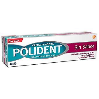 Polident Adhesive Cream Tube Tasteless 40 ml