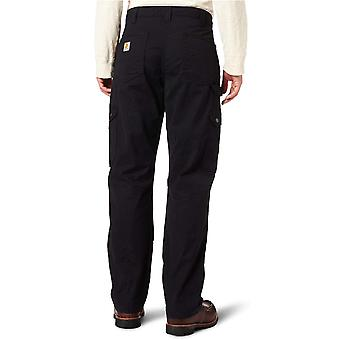 Pantalone da lavoro Ripstop Cargo da uomo Carhartt, nero, 38W x 32L