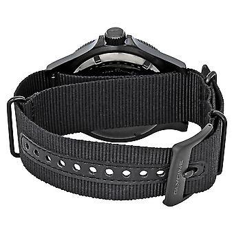 Glycine Combat SUB Automatic Black Dial Men's Nylon Watch GL0098