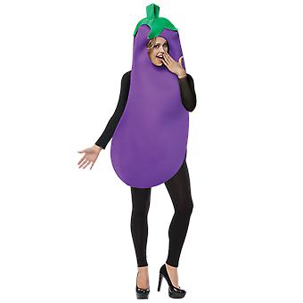 Adult Aubergine Eggplant Emoji Food Novelty Funny Fancy Dress Costume