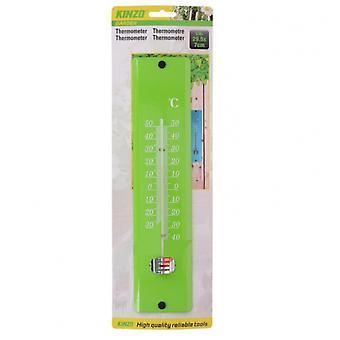 thermometer analog grün 29,5x7x2 cm