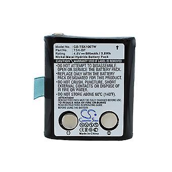 Two-Way Radio Battery for Doro TSX-BP TriSquare WT86 TSX100 TSX300 800mAh Ni-MH