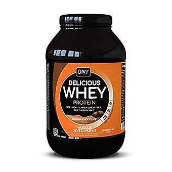 QNT Delicious Whey Protein Powder Bodybuilding Muscle Growth (Chocolate) 908g