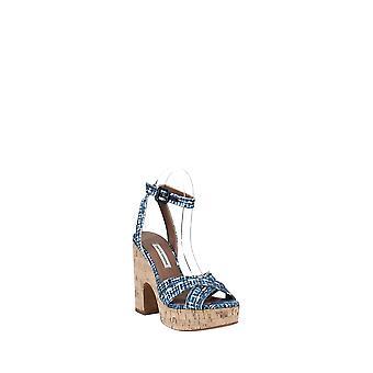 Tabitha Simmons   Elena Crisscross Platform Wedge Sandals