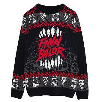 WWE Mens The Demon Finn Balor Knitted Jumper