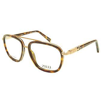 ZILLI glasögon ramacetat titan sköldpadda Frankrike handgjord ZI 60016 C03