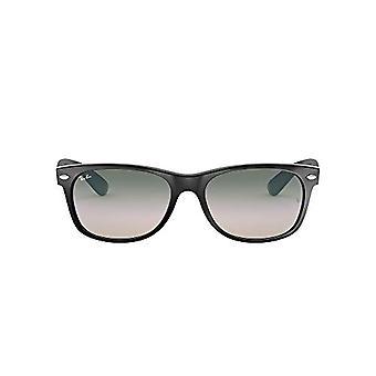 راي بان 0rb2132 النظارات الشمسية، أسود (أسود / واضح التدرج الأخضر)، 55 للجنسين الكبار