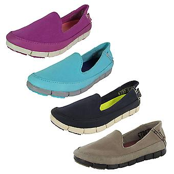 Crocs Womens Stretch Sole Skimmer Loafer Shoes