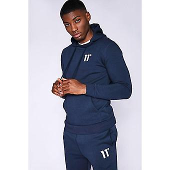 11 Degrees Core Pullover Hoodie - Navy
