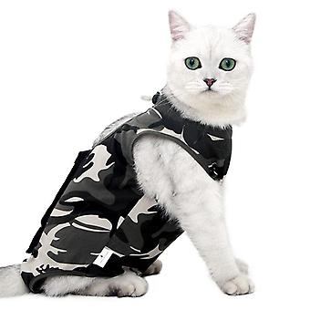 Kot pet sterylizacji odzież chirurgiczna suknia anty-lizanie pooperacyjny kamuflaż odzieży
